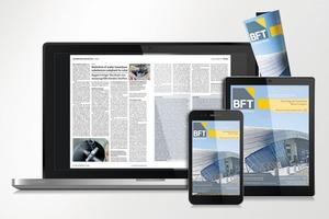 Die neue BFT-App kann problemlos mit PC, Notebook, Tablet oder Smartphone genutzt werden – dasLayout passt sich flexibel an diejeweilige Bildschirmgröße an