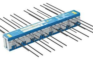 """<div class=""""bildtext"""">Der Isokorb KXT mit einer Dämmkörperdicke von 120 mm wurde für frei auskragende Stahlbetonbalkone entwickelt</div>"""