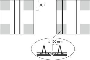 "<div class=""bildtext_en"">Lattice girder next to butt joints in the torsion area </div>"