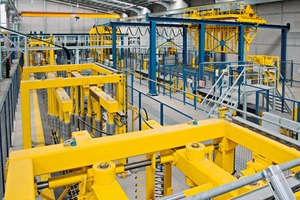 """<div class=""""bildtext_en"""">View inside the newly erected production building with the plant equipment installed quite recently, too</div>"""