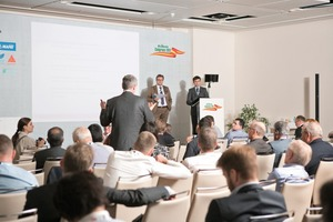 "<div class=""bildtext_en"">33 lectures by speakers from 18 different countries were presented during two days</div>"