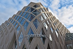 "<div class=""bildtext_en"">Techrete supplies architectural precast concrete for numerous building projects in the UK, including the John Lewis flagship store in Leeds, or glass-fiber reinforced elements for the Tapestry Building at King's Cross in London </div>"