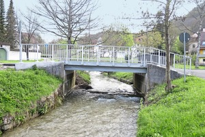 """<div class=""""bildtext"""">Ersatzneubau – fertig sanierte Brücke in Albstadt-Margrethausen </div>"""