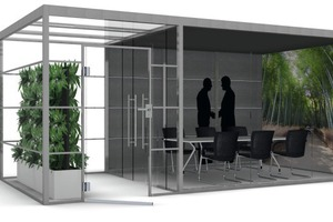 "<div class=""bildtext_en"">The ""Think.Tank"" room-in-room solution can be integrated into any office landscape </div>"