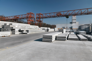 "<div class=""bildtext_en"">Elbe Delcon GmbH, one of the leading German suppliers of prestressed-concrete slabs, invested in a flexible slipformer from Echo Precast Engineering</div>"