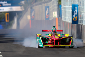 Formula E is all about pure electrically driven cars. City streets are used as race course