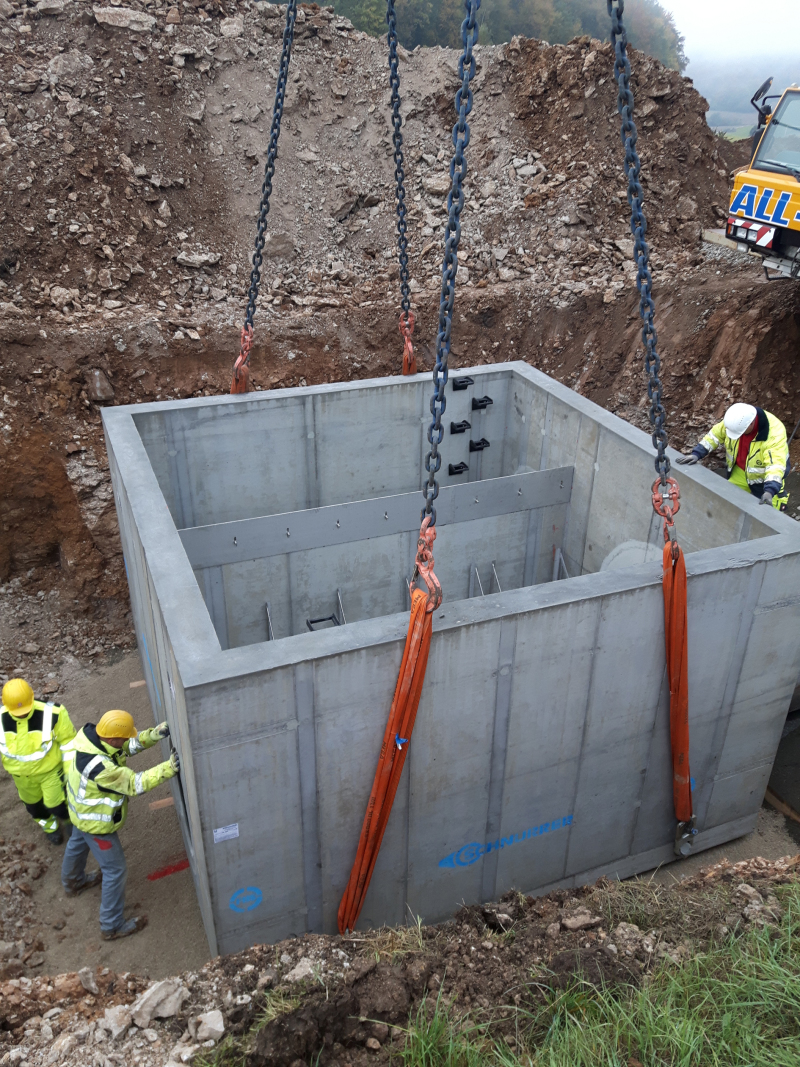 Water Quality Structures : Concrete plant precast technology
