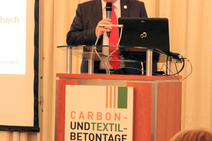 "<div class=""bildtext_en"">This year, Prof. Manfred Curbach of TU Dresden could welcome about 350 participants to the ninth Carbon Concrete Days</div>"