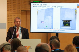Professor Christian Thienel from the University of the German Federal Armed Forces in Munich, Germany, gave an interesting speech on lightweight concrete