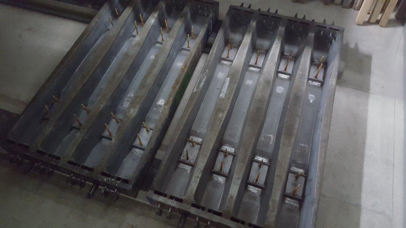 Modern plant equipment for production of prestressed