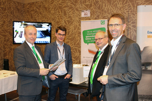 """<div class=""""bildtext_en"""">More than 30 exhibitors participated in this year's Engineering Day – here, the companies Geolyth and Schöck </div>"""