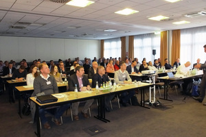 """<div class=""""bildtext_en"""">Around 80 applications engineers and represen-tatives from member companies participated in the third SLG symposium </div>"""