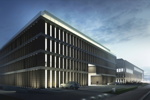 """<div class=""""bildtext_en"""">Bétons Feidt is supplying architectural concrete components for the Moonlight office complex in Luxembourg City</div>"""