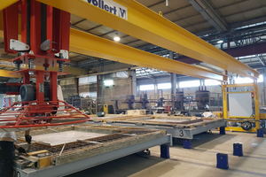 """<div class=""""bildtext_en"""">The concrete troweling station in gantry design provides for fair-faced concrete surfaces and the premium quality required</div>"""