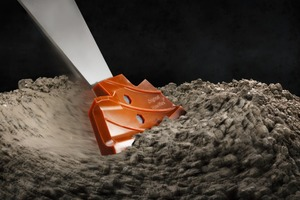 """<div class=""""bildtext_en"""">The Hawiflex mixing blade from Habermann Materials: Less stressing in wear area due to patented guide ribs</div>"""