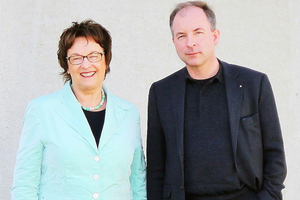"<div class=""bildtext_en"">Brigitte Zypries, Minister for Economic Affairs and Energy, visiting B. T. innovation; shown in the picture with company owner Felix von Limburg </div>"
