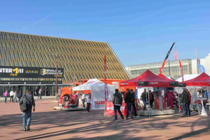"""<div class=""""bildtext_en"""">In 2015 Intermat and World of Concrete Europe for the first time took place at the same time and in the same place in Paris, France</div>"""