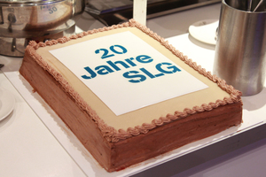 """<div class=""""bildtext_en""""><irspacing style=""""letter-spacing: -0.01em;"""">20 years of SLG: The agenda of the event included anniversary speeches and an intriguing review of the association's history</irspacing></div>"""