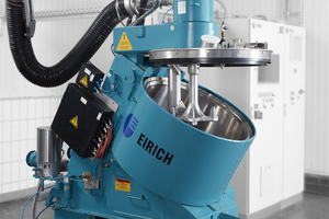 Energy-efficient torque drives are now also available for Eirich mixers