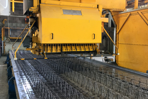 The fully automated concrete spreader completes the jobs at hand autonomously, quickly and precisely in accordance with the requirements of the production process
