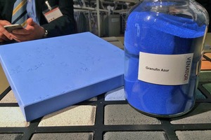 "<div class=""bildtext_en"">Granufin Azur is the first cobalt blue pigment in Venator's Granufin range of virtually dust-free, color pigments </div>"