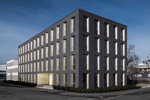 """<div class=""""bildtext"""">Das weltweit erste Gebäude mit Textilbetonsandwichfassade """"Eastsite VIII"""" wurde 2016 in Mannheim fertiggestellt </div>"""