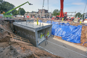"""<div class=""""bildtext_en"""">In the city of Groningen, the infrastructure for bicycle traffic was optimized within the scope of the """"Aanpak Ring Zuid""""traffic project</div>"""