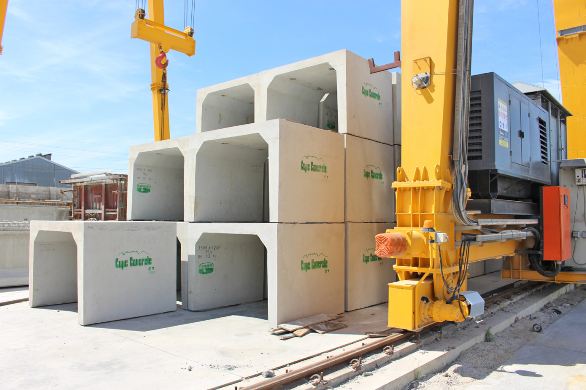 """High quality precast elements from the """"Cape of Good"""