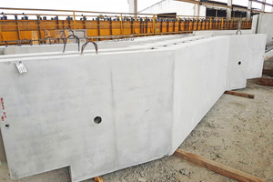 "<div class=""bildtext_en"">Fair-faced concrete quality on three sides: a key quality feature of precast stairs</div>"