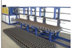 "<div class=""bildtext_en"">The collector of the PL Tris lattice girder machine </div>"