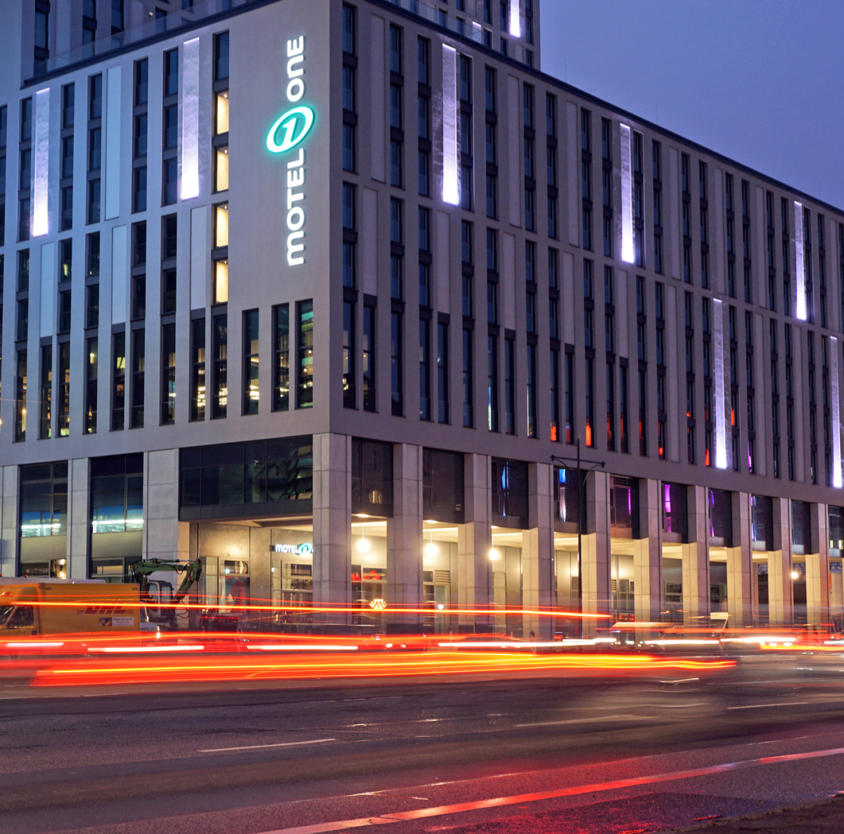 Glass Fiber Concrete Fa 231 Ade For Motel One In Berlin Concrete Plant Precast Technology