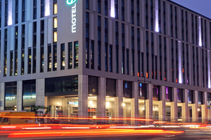 The largest hotel of the Motel One chain stands in Berlin on Alexanderplatz
