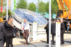 """<div class=""""bildtext_en"""">Perfect organization and nice weather – the """"World of Concrete Europe"""" special exhibition co-located with the Intermat trade fair would have deserved more visitors this</div>"""