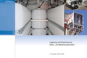 """<div class=""""bildtext_en"""">The revised code of practice """"Lagerung und Dosierung von Beton- und Mörtelzusatzmitteln"""" is available for free download on the website of Deutsche Bauchemie </div>"""