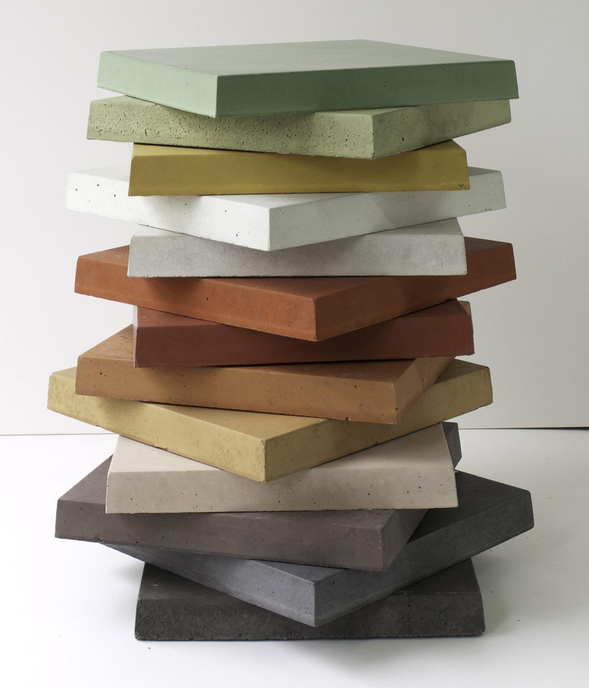 Einfärben Von Beton Welche Faktoren Wichtig Sind Betonwerk - Farbige betonplatten