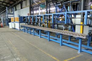 PL TRIS ladder girder welding machine