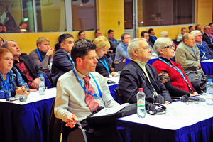 """<div class=""""bildtext_en"""">The lecture program also meets with great interest among the visitors of the event </div>"""