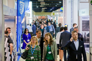"""<div class=""""bildtext_en"""">Always well attended despite the difficult international political situation – the PreCast trade show and conference </div>"""