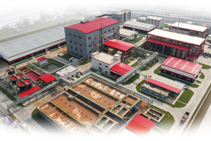 The certified cutting-edge plant for manufacture of synthetic iron-oxide pigments utilizes the Ningbo process, developed by Lanxess