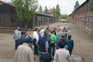 ... as well as the memorial site of the former German concentration and extermination camp in Auschwitz-Birkenau