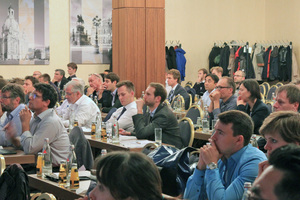 Last year's edition of the Carbon and Textile-Reinforced Concrete Days saw a large number of attendees on all conference days