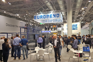 "<div class=""bildtext_en""><irspacing style=""letter-spacing: -0.02em;"">The Eurobend booth at the Wire trade fair in the German city of Dusseldorf </irspacing></div>"