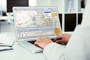 """<div class=""""bildtext"""">GPS-gestütze Echtzeit-Systeme ermöglichen eine kontinuierliche, präzise Fahrzeugortung und eine smarte Routenplanung </div>"""