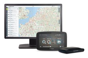 """<div class=""""bildtext"""">Moderne Fuhrparkmanagement-Systeme arbeiten als geräteübergreifende Saas-Lösung, mit mobiler Hardware für Navigation, Auftragsabwicklung und Kommunikation sowie Fahrzeugortungsgeräten </div>"""
