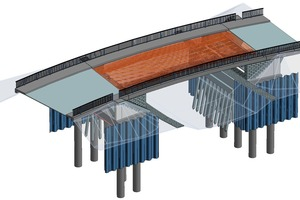 Strakon bridge design