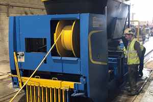 With the new Slipformer S-Liner form Echo Precast, all their production lines are equipped with this machine type at Ducon. Each line is dedicated to one of the mostly demanded sizes for hollow core slabs