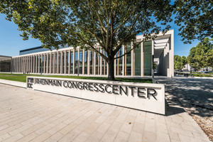 The RheinMain CongressCenter is situated in a prime inner-city location, just a few steps away from the upmarket Wilhelmstrasse
