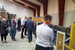 Delivery presentation of the PLR Truss at Pretec in Koge, Denmark