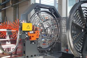 Ein Highlight von mbk: Pfahl-Korbschweißmaschine ASM