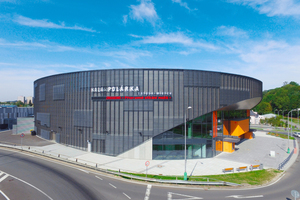 """<div class=""""bildtext_en"""">The multifunction hall with more than 2,000 seats can be used for sports and cultural events</div>"""